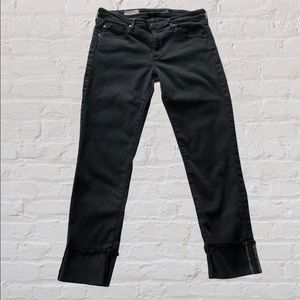 Adriano Goldschmied Black Jeans | The Stevie Cuff
